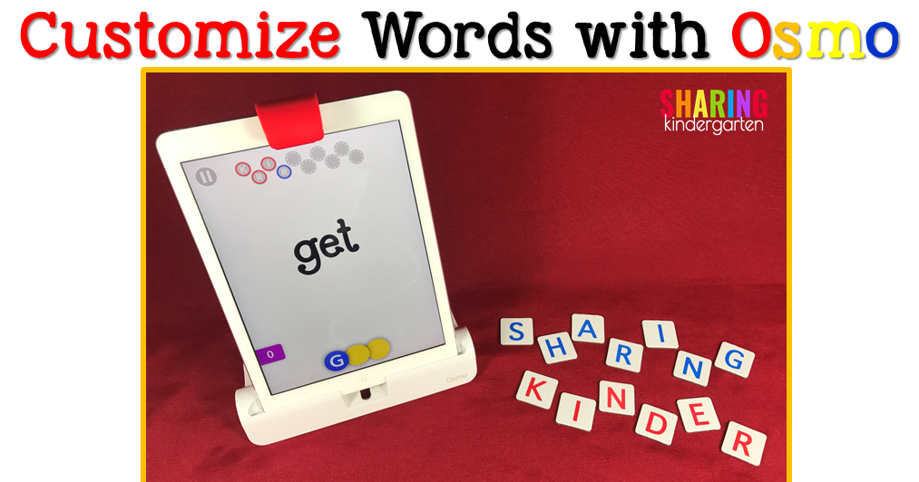 Customize Words with Osmo: You Are Ready to Play!