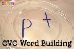 Learning Light Tables: CVC Word Building