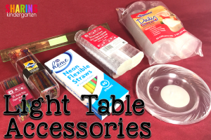 Light Table Accessories