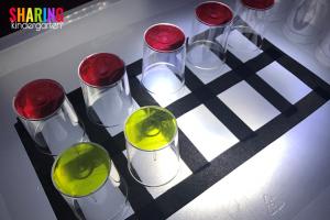 Ten Frame Light Table Activity