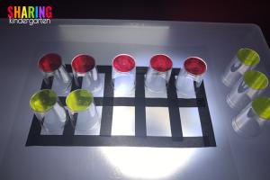 Ten Frame Fun for a Light Table