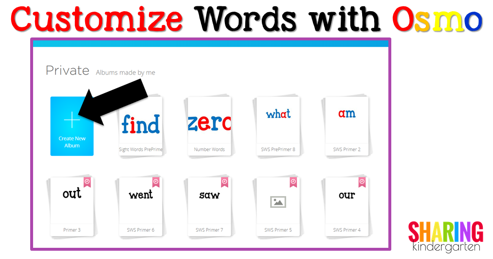 Customize Words with Osmo