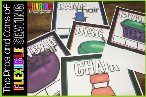 The Pros and Cons of Flexible Seating: Making a choice board for management