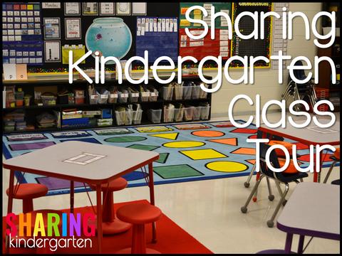 Sharing Kindergarten Class Tour 2016-2017