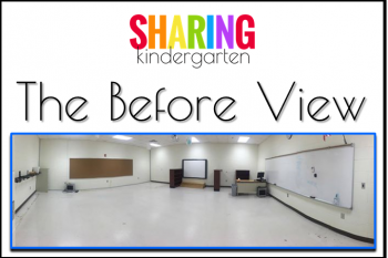 Classroom Reveal: The Before View