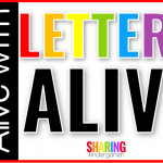Using Augmented Reality to Bring Letters Alive