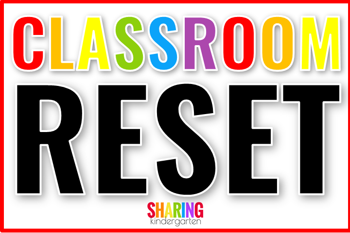 Classroom Reset When You Have Tile Floors