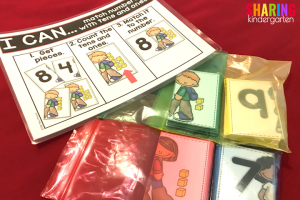 Back to School Math Activities~ Color coded Small Group Games