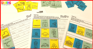 Roll'n Write Activities: Use parts of speech to make sentences... with differientiation