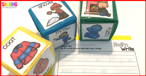 Roll'n Write Activity: Roll a theme and then write about it.