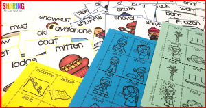 Roll'n Write with Nouns, Verbs, and Adjectives