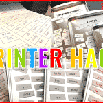 Printer Hack with Printable Magnetic Sheets