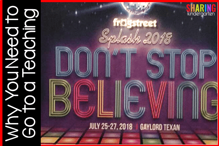 Don't Stop Believing... 2018 theme for Frog Street Splash