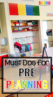 Must Dos for PrePlanning