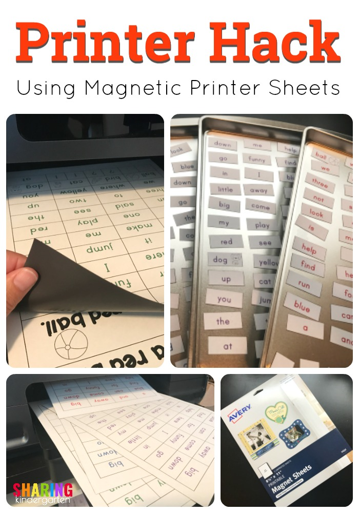 photograph about Avery Printable Magnet Sheets identify Printer Hack with Printable Magnetic Sheets - Sharing