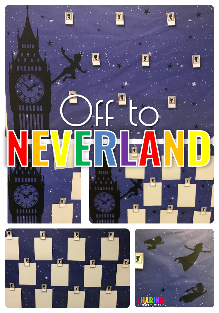 Off to Neverland Decor