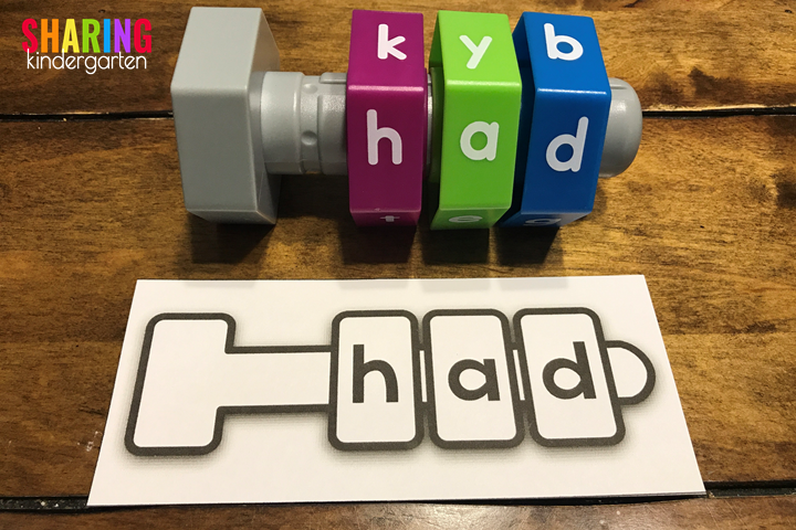 Nuts and Bolts of Constructing Words: Create a Word