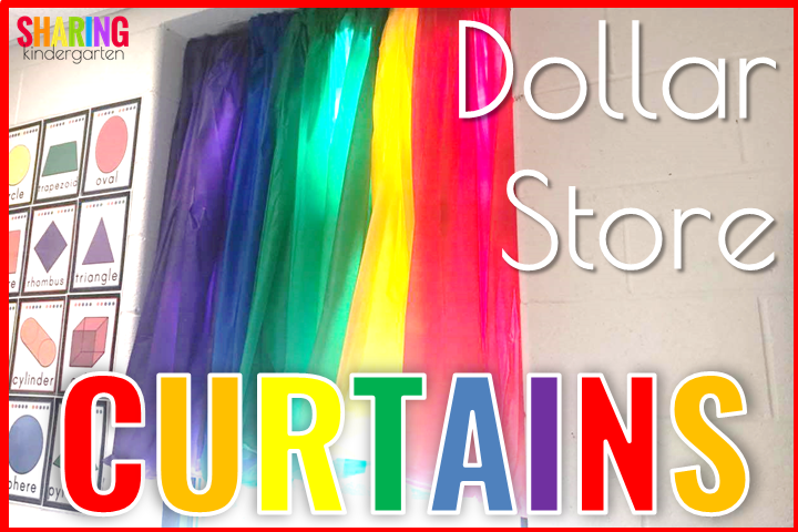 Dollar Store Curtains