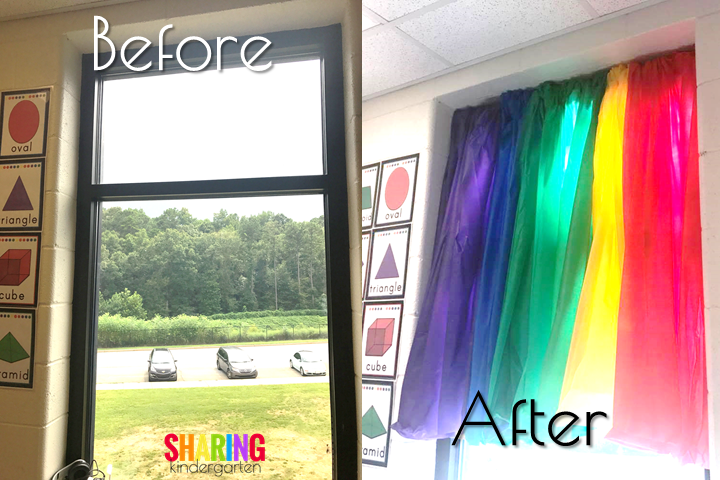 Dollar Store Curtains: Before and After