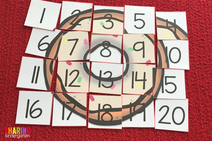 Donut Puzzle FUN