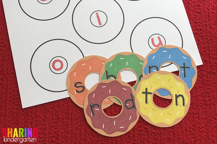 Sound Out Words with Donuts Game