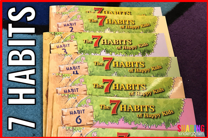 The 7 Habits of Happy Kids Book Collection is fun for social stories.