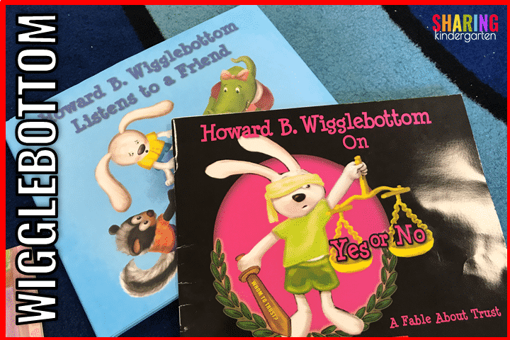 Howard B. Wigglebottom Books are great social stories.