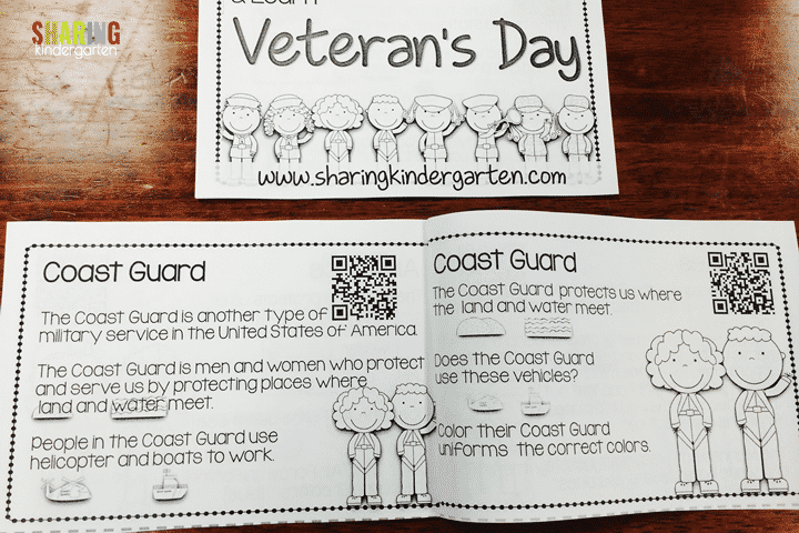 Veteran's Day QR Scan & Learn