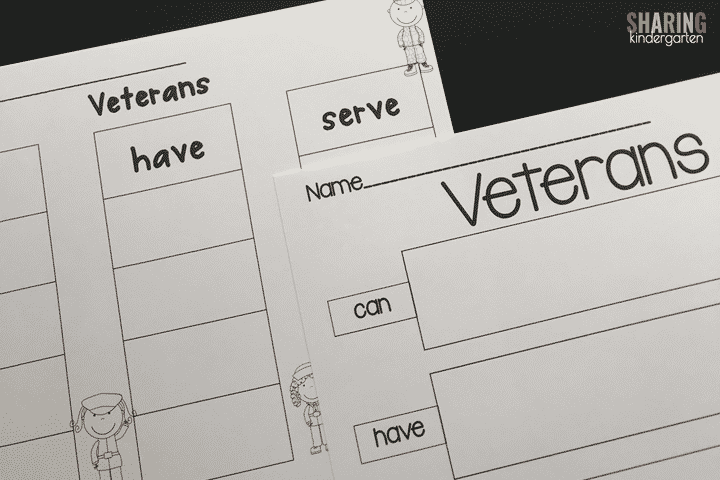 Veteran's Day charting