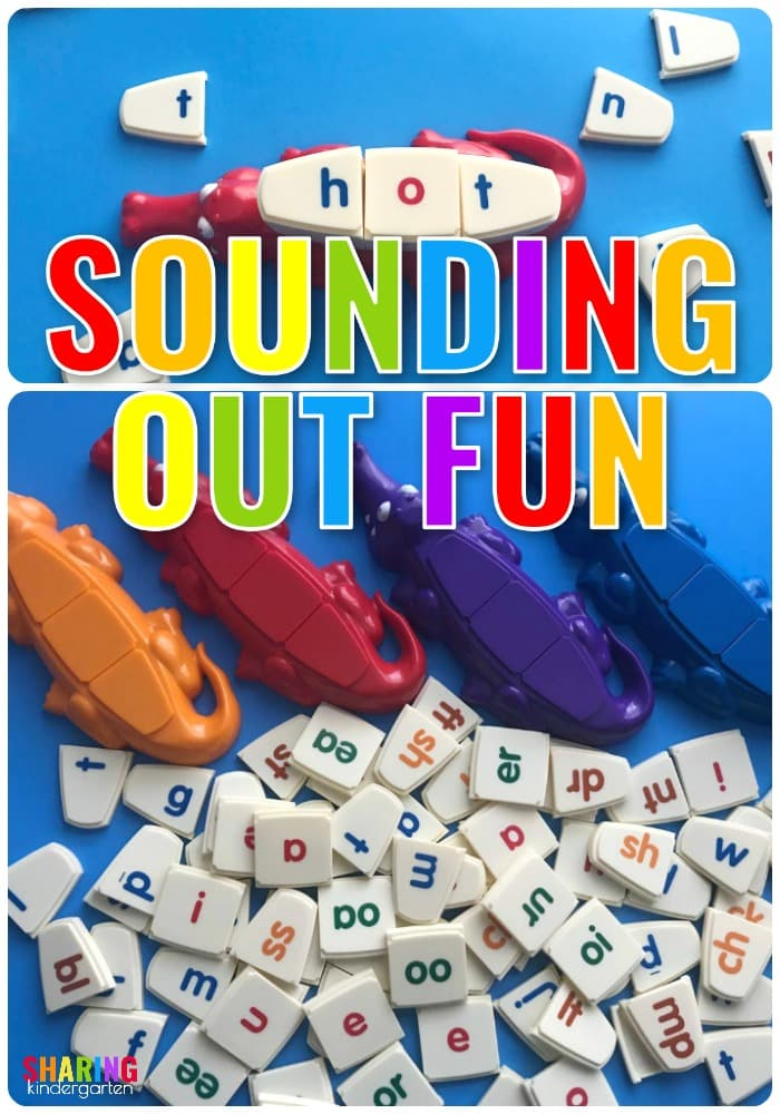 Sounding out word fun