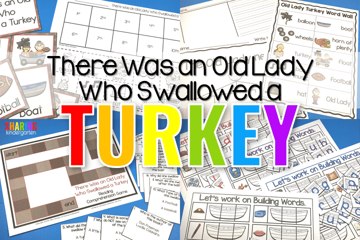 Covering the Content with There Was an Old Lady Who Swallowed a Turkey
