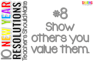 Show others you value them.
