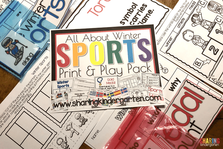 All About Winter Sports Print & Play Pack