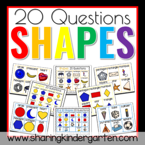 20 Questions Shapes