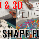 Hands on 2D and 3D Shape Fun for Little Learners