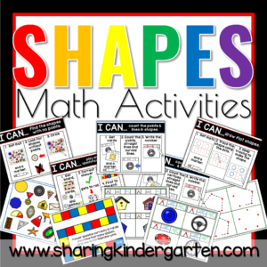 Shape Math Activities