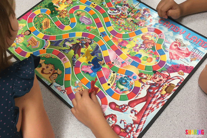 Use Candy Land to practice shapes