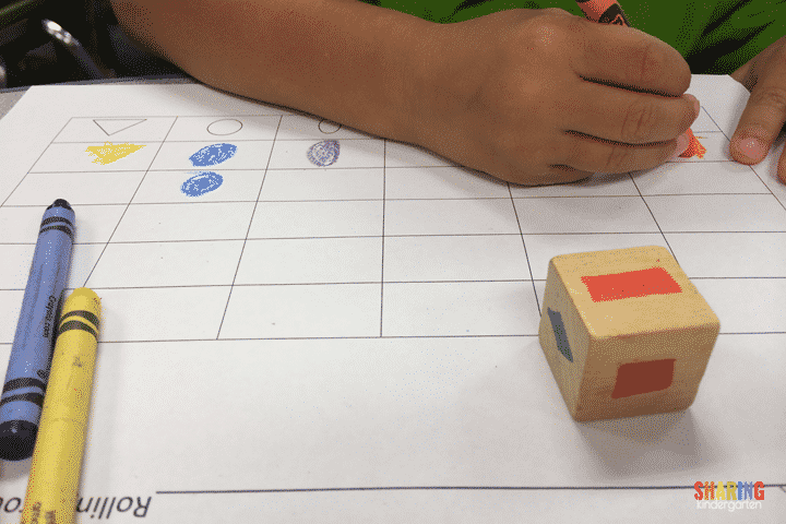 graphing shapes activity