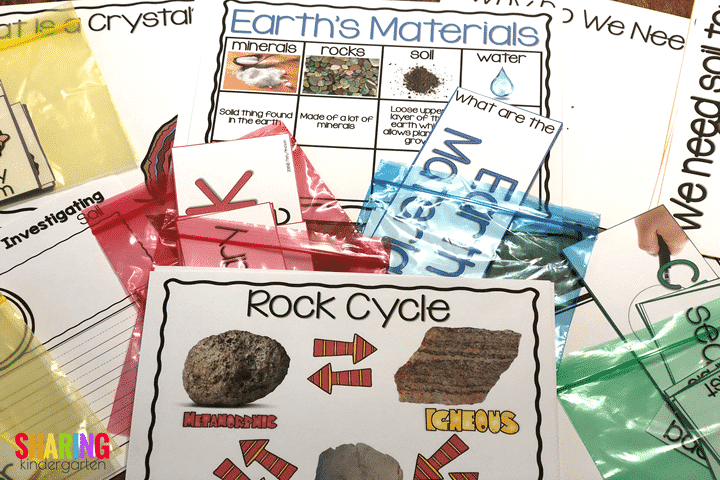 Rocks: Print & Play Pack This is a rock unit for Kindergarten.