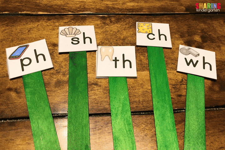 digraph sound sticks