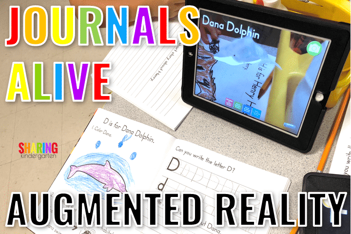 Augmented Reality Journals for Little Learners