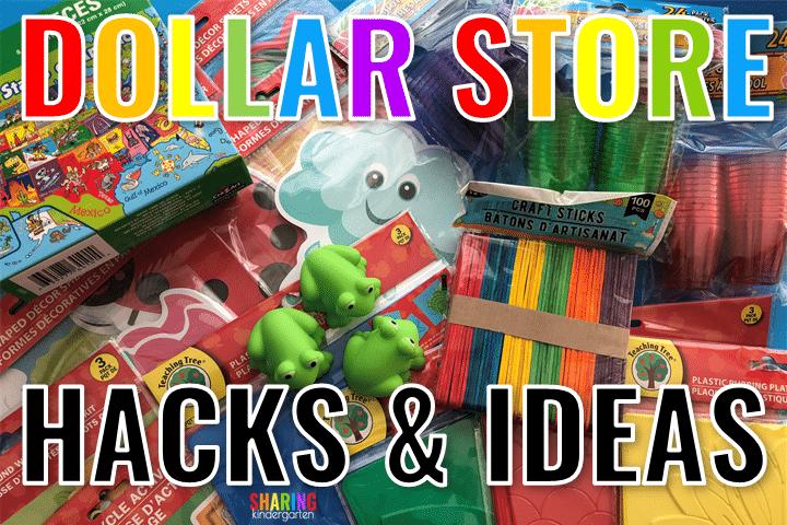 Dollar Store Hacks & Ideas
