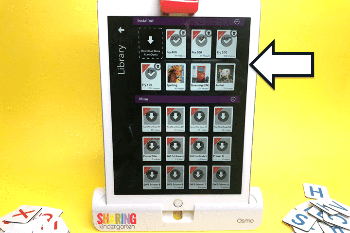Your Library on Osmo