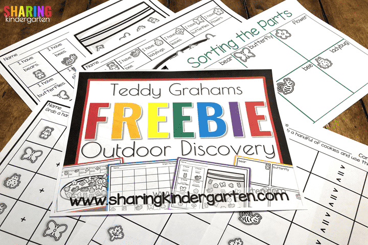Teddy Graham Outdoor Discovery Freebie File