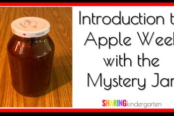 Introduction to Apple Week with the Mystery Jar