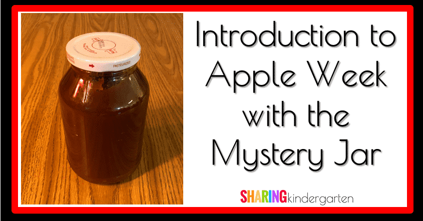 An introduction to Apple Week with the Mystery Jar