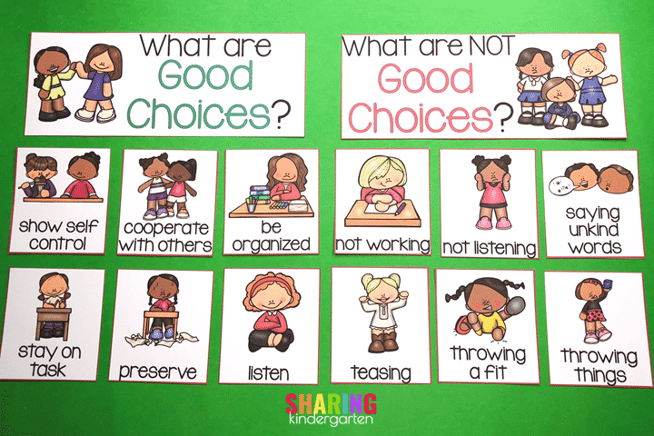 good choices and not good choices