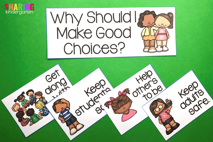 Why should I make good choices?