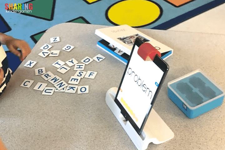 A better management system for Osmo letter tiles.