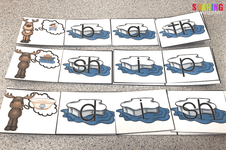 Winter Animal Fun: Digraphs